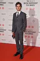 Kyle Soller arriving for the British Independent Film Awards 2014 at Old Billingsgate, London. 07/12/2014 Picture by: Steve Vas / Featureflash