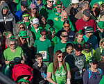 A record number of racers start the 7th annual Leprechaun Race in downtown Reno, Nevada on Sunday, March 17, 2019.