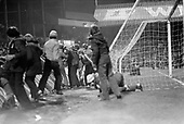 23/03/79 Blackpool v Shrewsbury Division 3..Jubilant fans pile back into the south paddock....© Phill Heywood.