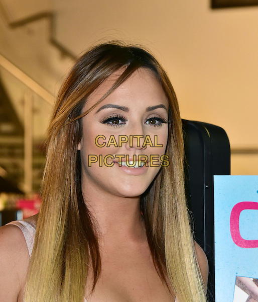 LONDON, ENGLAND - JANUARY 04: Charlotte Crosby attends a photocall as she meets fans and signs copies of her DVD 'Charlotte's 3 Minute Bum Blitz' at HMV Westfield Shopping Centre on January 4, 2016 in London, England.<br /> CAP/JOR<br /> &copy;JOR/Capital Pictures