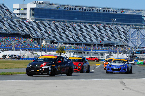 28-29 January, 2016, Daytona Beach, Florida, USA<br /> #92 Kevin Boehm, Steve Eich, Honda Civic Si<br /> &copy; 2016, Jay Bonvouloir, ESCP