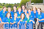 Rowers from Killorglin RC who won medals at the National Rowing Championships in Iniscarra, Cork over the weekend front row l-r: Caoimhe O'Sullivan, Aisling O'Shea, Aoife Ross, Me?abh O'Sullivan. Back row: Aileen Crowley, Caoimhe Russell, Kelly Moriarty, Kerri Fay, Maeve McGillicuddy, Katie Fay, Niamh McSweeney, Veronica Kingston and Tara Lynch.