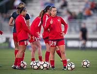 Boyds, MD - Saturday September 30, 2017: Meggie Dougherty Howard during a regular season National Women's Soccer League (NWSL) match between the Washington Spirit and the Seattle Reign FC at Maureen Hendricks Field, Maryland SoccerPlex.