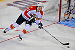 24 January 2009: Florida Panthers rookie center Michael Frolik leads a rush during the NHL YoungStars Game where the Rookies defeated the Sophomores 9-5 in the NHL SuperSkills Competition, part of the All-Star Weekend at the Bell Centre in Montreal, Quebec, Canada. ***** Editorial Sales Only ***** Mandatory Photo Credit: Ed Wolfstein Photo