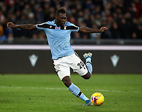 Football, Serie A: S.S. Lazio - Hellas Verona, Olympic stadium, Rome, February 5, 2020. <br /> Lazio's Felipe Caicedo in action during the Italian Serie A football match between S.S. Lazio and Hellas Verona at Rome's Olympic stadium, Rome, on February 5, 2020. <br /> UPDATE IMAGES PRESS/Isabella Bonotto