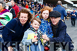 Jennifer Allen with Harry White, Molly White and Karl White, Ballybunion, pictured at Listowel Races on Sunday last.