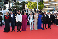 Cate Blanchett, Jury, Denis Villeneuve, Chang Chen, Ava DuVernay, Lea Seydoux, Kristen Stewart, Khadja Nin, Andrey Zvyagintsev &amp; Robert Guediguian at the closing gala screening for &quot;The Man Who Killed Don Quixote&quot; at the 71st Festival de Cannes, Cannes, France 19 May 2018<br /> Picture: Paul Smith/Featureflash/SilverHub 0208 004 5359 sales@silverhubmedia.com