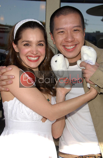 Gina Phillips and Reggie Lee<br />
