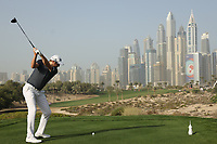 Matthew Southgate (ENG) in action during the third round of the Omega Dubai Desert Classic, Emirates Golf Club, Dubai, UAE. 26/01/2019<br /> Picture: Golffile | Phil Inglis<br /> <br /> <br /> All photo usage must carry mandatory copyright credit (© Golffile | Phil Inglis)