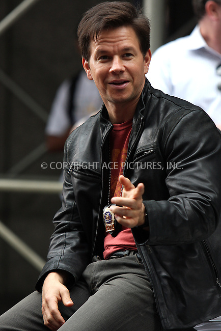 WWW.ACEPIXS.COM . . . . .  ....September 23 2009, New York City....Actor Mark Wahlberg on the midtown Manhattan set of the new movie 'The Other Guys' on September 23 2009 in New York City....Please byline: AJ Sokalner - ACEPIXS.COM..... *** ***..Ace Pictures, Inc:  ..tel: (212) 243 8787..e-mail: info@acepixs.com..web: http://www.acepixs.com