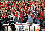 ESPN Gameday postgame show with Chris Fowler and Kirk Herbstreit after the Wisconsin Badgers NCAA college football game against the Ohio State Buckeyes on October 16, 2010 at Camp Randall Stadium in Madison, Wisconsin. The Badgers beat the Buckeyes 31-18. (Photo by David Stluka)