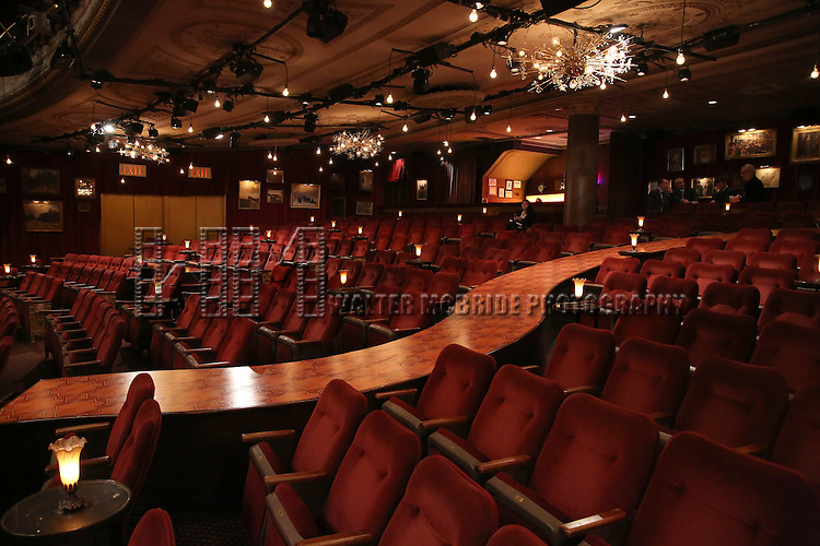 The theater during the Broadway Opening Night Actors' Equity Gypsy Robe Ceremony honoring Katrina Yaukey  for  'Natasha, Pierre & The Great Comet Of 1812' at The Imperial Theatre on November 14, 2016 in New York City.
