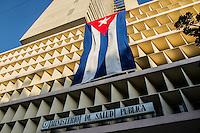 HAVANA, CUBA, 23.07.2015 –  Prédio do Ministerio da Saúde Pública de Cuba em Havana.(Foto: Paulo Lisboa/Brazil Photo Press)