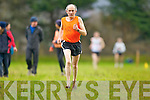Michael Mangan Beaufort, Star of the Laune who ran in his bare feet in the Senior Men's race at the Munster Cross Country championships in Beaufort on Sunday..