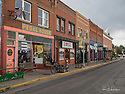 October 8 thru October 21, 2017 / Cross country Trip to Yellowstone National Park in Yellowstone, Wyoming. / Scenes from Laramie Whyoming /  This is one of the streets designated as part of the historic district. Stops in Laramie, Jackson, Yellowstone with travels thru Pennsylvania, Ohio, Indiana, South Dakota, Wyoming, Montana, North Dakota, Missouri, Minnosota, and Illanois.
