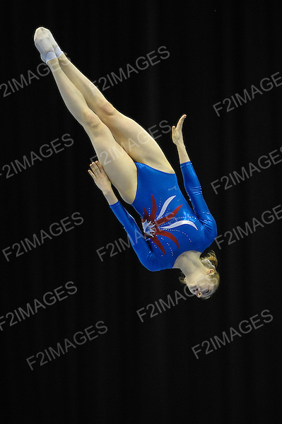 Trampoline National Championships 8.7.12 NIA Birmingham.Bryony Page