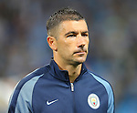 Aleksander Kolarov of Manchester City  during the UEFA Champions League Group C match at The Etihad Stadium, Manchester. Picture date: September 14th, 2016. Pic Simon Bellis/Sportimage