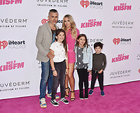 CARSON, CA - JUNE 01: Edwin Arroyave (L), Teddi Mellencamp and children attend 2019 iHeartRadio Wango Tango at The Dignity Health Sports Park on June 01, 2019 in Carson, California.<br /> CAP/ROT/TM<br /> ©TM/ROT/Capital Pictures
