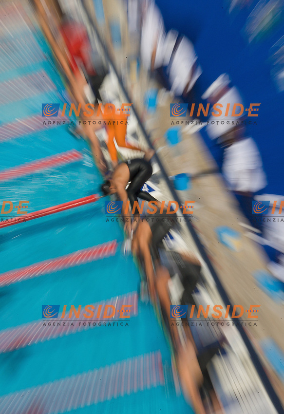 Roma 28th July 2009 - 13th Fina World Championships .From 17th to 2nd August 2009.Start.photo: Roma2009.com/InsideFoto/SeaSee.com