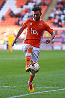 Blackpool's Jack Payne in action<br /> <br /> Photographer Richard Martin-Roberts/CameraSport<br /> <br /> The EFL Sky Bet League Two Play-Off Semi Final First Leg - Blackpool v Luton Town - Sunday May 14th 2017 - Bloomfield Road - Blackpool<br /> <br /> World Copyright &copy; 2017 CameraSport. All rights reserved. 43 Linden Ave. Countesthorpe. Leicester. England. LE8 5PG - Tel: +44 (0) 116 277 4147 - admin@camerasport.com - www.camerasport.com
