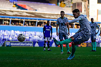 4th January 2020; St Andrews, Birmingham, Midlands, England; English FA Cup Football, Birmingham City versus Blackburn Rovers; Adam Armstrong of Blackburn Rovers scores from the penalty spot in the 61st minute for 1-1 - Strictly Editorial Use Only. No use with unauthorized audio, video, data, fixture lists, club/league logos or 'live' services. Online in-match use limited to 120 images, no video emulation. No use in betting, games or single club/league/player publications
