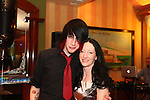Cian and Grace Cowley at Cian's 21st Birthday Party in The Thatch.<br /> Picture: Shane Maguire / www.newsfile.ie