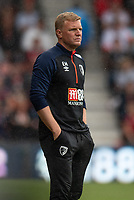 Bournemouth manager Eddie Howe <br /> <br /> Photographer David Horton/CameraSport<br /> <br /> The Premier League - Bournemouth v Cardiff City - Saturday August 11th 2018 - Vitality Stadium - Bournemouth<br /> <br /> World Copyright &copy; 2018 CameraSport. All rights reserved. 43 Linden Ave. Countesthorpe. Leicester. England. LE8 5PG - Tel: +44 (0) 116 277 4147 - admin@camerasport.com - www.camerasport.com