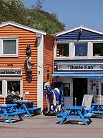 Restaurant Bunte Kuh, Insel Helgoland, Schleswig-Holstein, Deutschland, Europa<br /> Restaurant Bunte Kuh, Helgoland island, district Pinneberg, Schleswig-Holstein, Germany, Europe