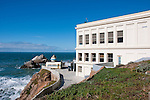 Cliff House,restaurant, and Seal Rocks, near Golden Gate Park, San Francisco, California, USA.  Photo copyright Lee Foster.  Photo # california108320