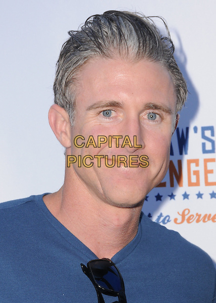 11 August 2016 - Los Angeles, California. Chase Utley. Clayton Kershaw's 4th Annual Ping Pong 4 Purpose Celebrity Tournament held at Dodger Stadium. <br /> CAP/ADM/BT<br /> &copy;BT/ADM/Capital Pictures