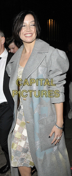 LONDON, ENGLAND - SEPTEMBER 14: Daisy Lowe attends the Jonathan Saunders S/S15 catwalk show, LFW Day 3, British Museum, Great Russell St., on Sunday September 14, 2014 in London, England, UK. <br /> CAP/CAN<br /> &copy;Can Nguyen/Capital Pictures