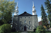 The French Catholic Church in Berthierville, Quebec