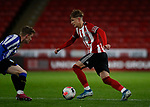 Harry Boyes of Sheffield Utd during the Professional Development League match at Bramall Lane, Sheffield. Picture date: 26th November 2019. Picture credit should read: Simon Bellis/Sportimage