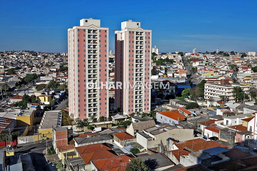 Predios e casas no bairro da Penha, zona leste. Sao Paulo. 2015. Foto de Marcia Minillo.