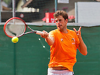 Austria, Kitzbuhel, Juli 14, 2015, Tennis, Davis Cup, Training Dutch team, Robin Haase<br /> Photo: Tennisimages/Henk Koster