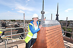 R &amp; M Williams<br /> Topping out at Four Elms Church in Cardiff.<br /> Jenny Clemence<br /> <br /> 20.08.13<br /> <br /> &copy;Steve Pope-Fotowales