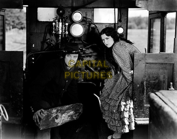 Buster Keaton & Marion Mack.in The General.*Filmstill - Editorial Use Only*.CAP/PLF.Supplied by Capital Pictures.