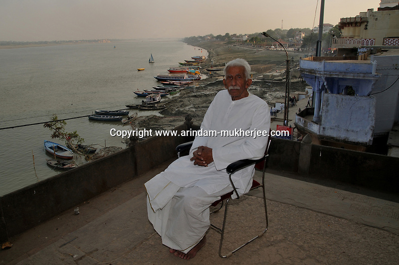 Veer Bhadra Misra. He is head of the Sankat Mochan Foundation. He has come up with an anti pollution drive known as the Swatcha Ganga project, to create awareness among the people of Varanasi and the government of India. He is also a mahant (man responsible for a religious place) in a temple in Varanasi. Prof. Misra is a hydraulic engineer by training and had been a professor with the esteemed Banaras Hindu University. Varanasi, Uttar Pradesh, India.
