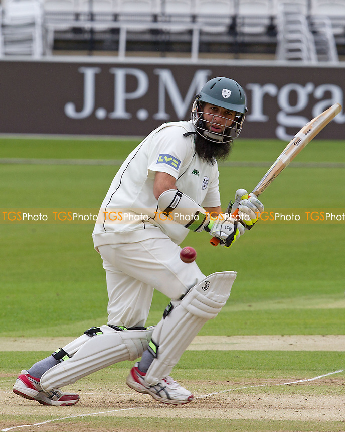 Moeen Ali, Worcestershire CCC turns the ball to leg - Middlesex CCC vs Worcestershire CCC - LV County Championship Division One Cricket at Lords Ground, St Johns Wood, London - 06/05/12 - MANDATORY CREDIT: Ray Lawrence/TGSPHOTO - Self billing applies where appropriate - 0845 094 6026 - contact@tgsphoto.co.uk - NO UNPAID USE.