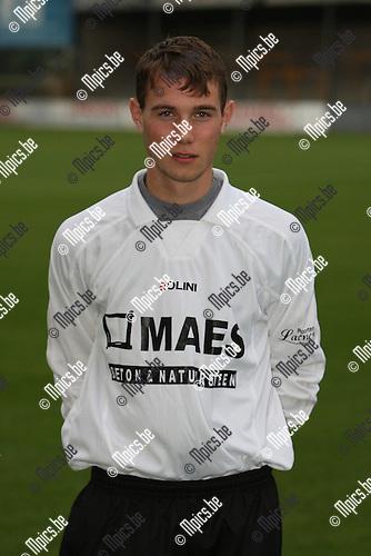 2007-07-24 / Voetbal / Witgoor Dessel / Mats Slegers