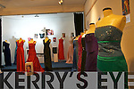 The exhibition of Rose of Tralee dresses at the Kerry County Museum on Friday.
