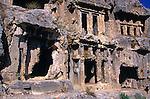 Lycian rock tombs, Tlos, Turkey