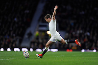 George Ford of England takes a penalty kick