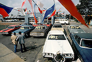 Detroit. U.S.A, September, 1980. America severely marked by the recession. The automobile industry is experiencing serious difficulties. Cars are being sold in very low prices.