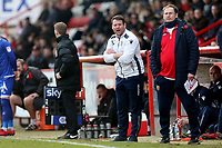 Stevenage manager Darren Sarll during Stevenage vs Crewe Alexandra, Sky Bet EFL League 2 Football at the Lamex Stadium on 10th March 2018