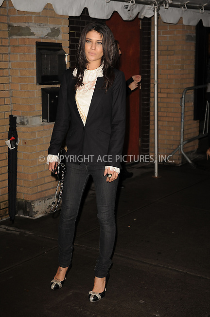 WWW.ACEPIXS.COM . . . . . ....November 19 2009, New York City....Actress Jessica Szohr arriving at The Cinema Society and D&G screening of THE TWILIGHT SAGA: NEW MOON at Landmark's Sunshine Cinema on November 19, 2009 in New York City.....Please byline: KRISTIN CALLAHAN - ACEPIXS.COM.. . . . . . ..Ace Pictures, Inc:  ..(212) 243-8787 or (646) 679 0430..e-mail: picturedesk@acepixs.com..web: http://www.acepixs.com