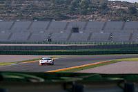 VALENCIA, SPAIN - OCTOBER 2: Bjorn Grossmann during Valencia Ferrari Challenge 2015 at Ricardo Tormo Circuit on October 2, 2015 in Valencia, Spain
