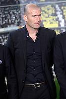Real Madrid's new assistant coach Zinedine Zidane . June 26, 2013. (ALTERPHOTOS/Acero) .<br /> ©NortePhoto