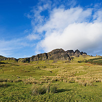 Rugged cliffs of the Storr, Trotternish, Isle of Skye, Scotland