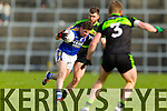 Kieran O'Leary  Kerry in action against Seamus O'Shea Mayo in the first round of the National Football League at Fitzgerald Stadium Killarney on Sunday.